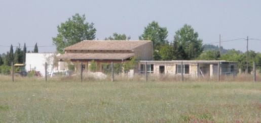 Dieses ohne Lizenz errichtete Gebäude bei Campanet wurde 2019 abgerissen.