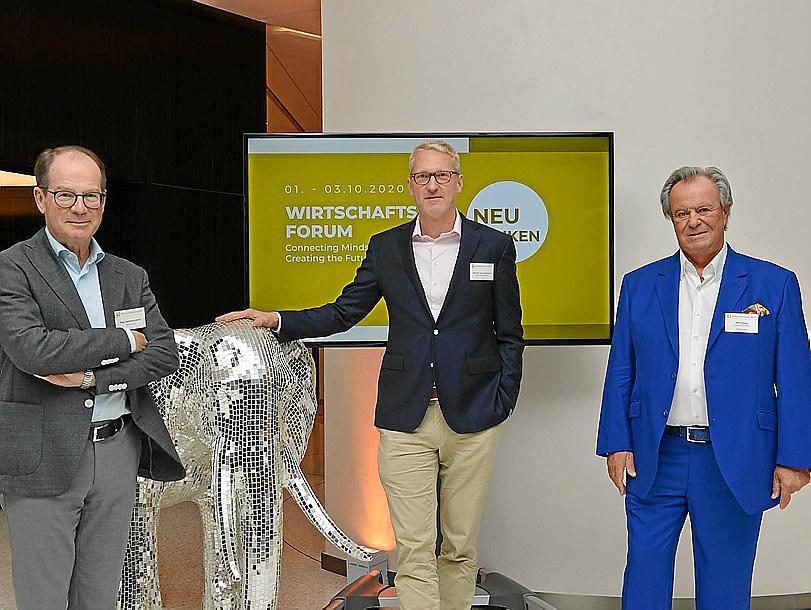 Die Organisatoren (v.l.n.r.): Reinhard Leitner (LeitnerLeitner), Jens Schönfeld (Kanzlei Flick Gocke Schaumburg) und Willi Plattes (European Accounting).