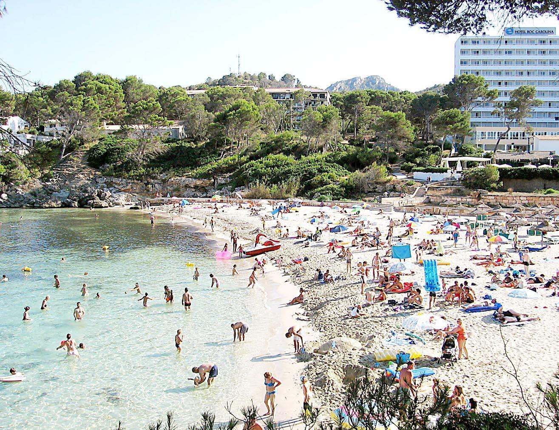 Mallorca Unwetter Karte.Strände Calas Buchten Font De Sa Cala