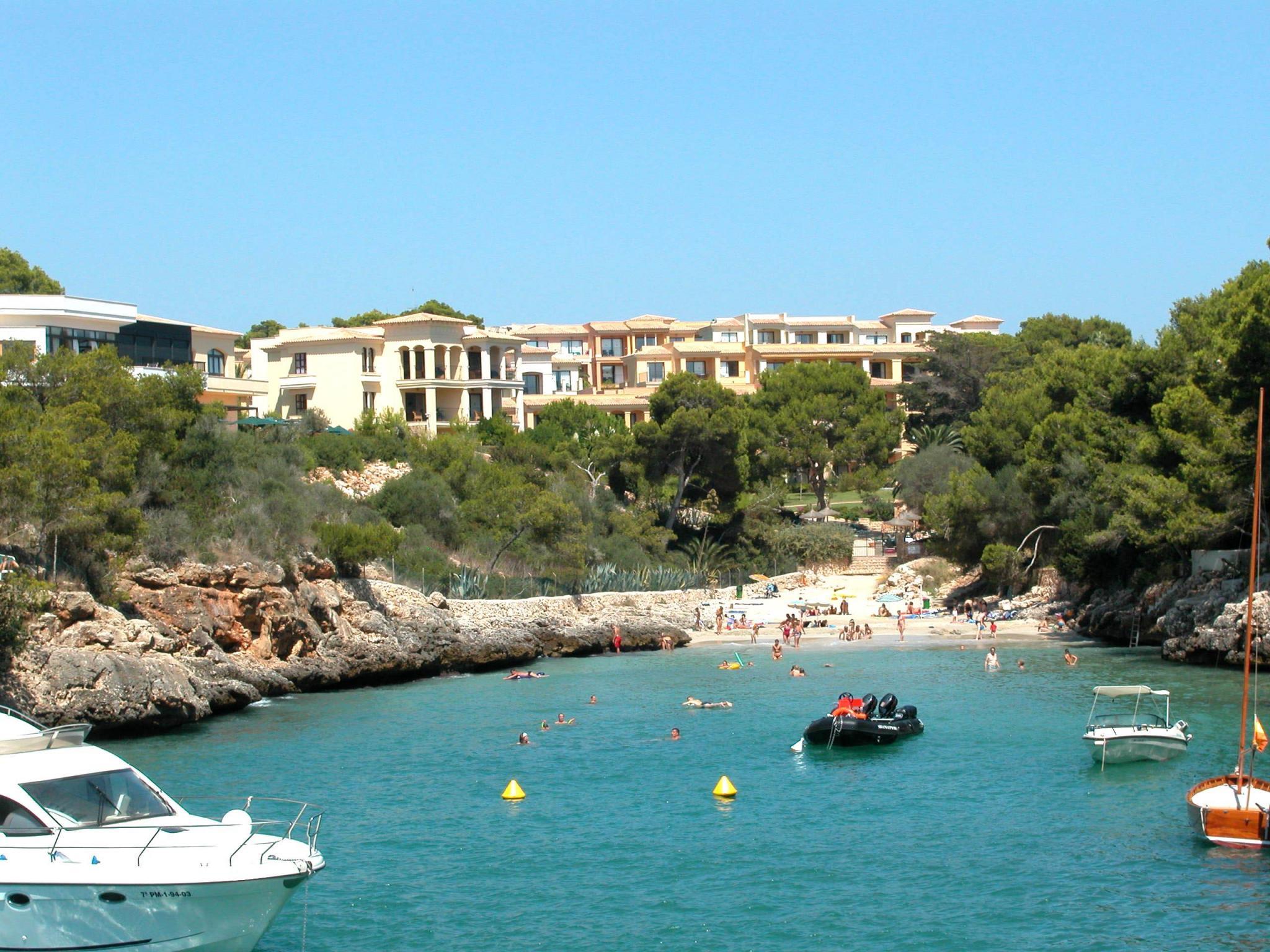 Mallorca Karte Strände.Strände Calas Buchten Cala Serena