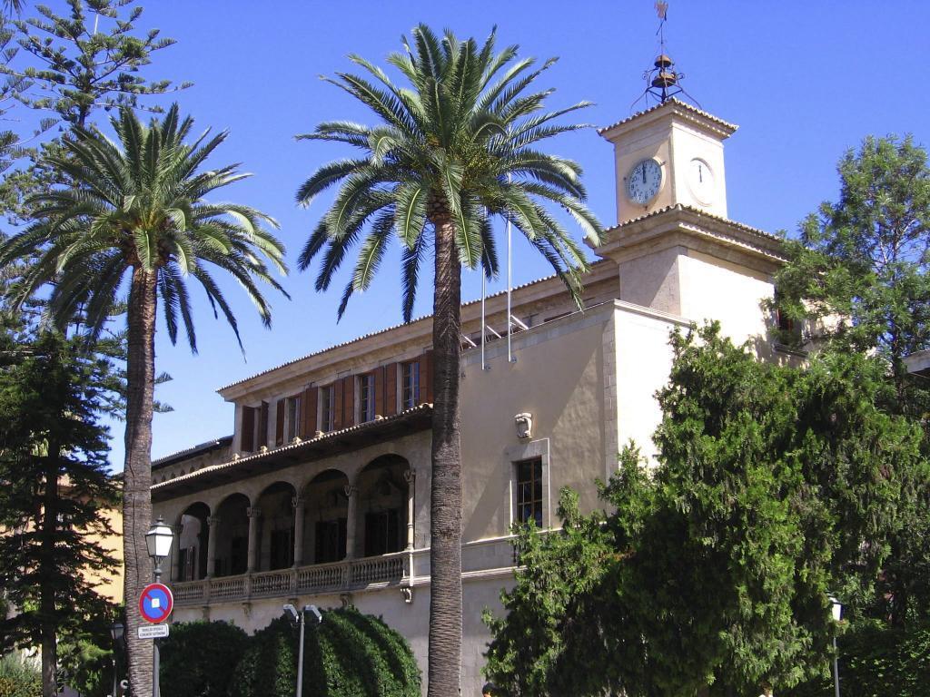 Der Regierungssitz am Consolat de Mar auf Mallorca.