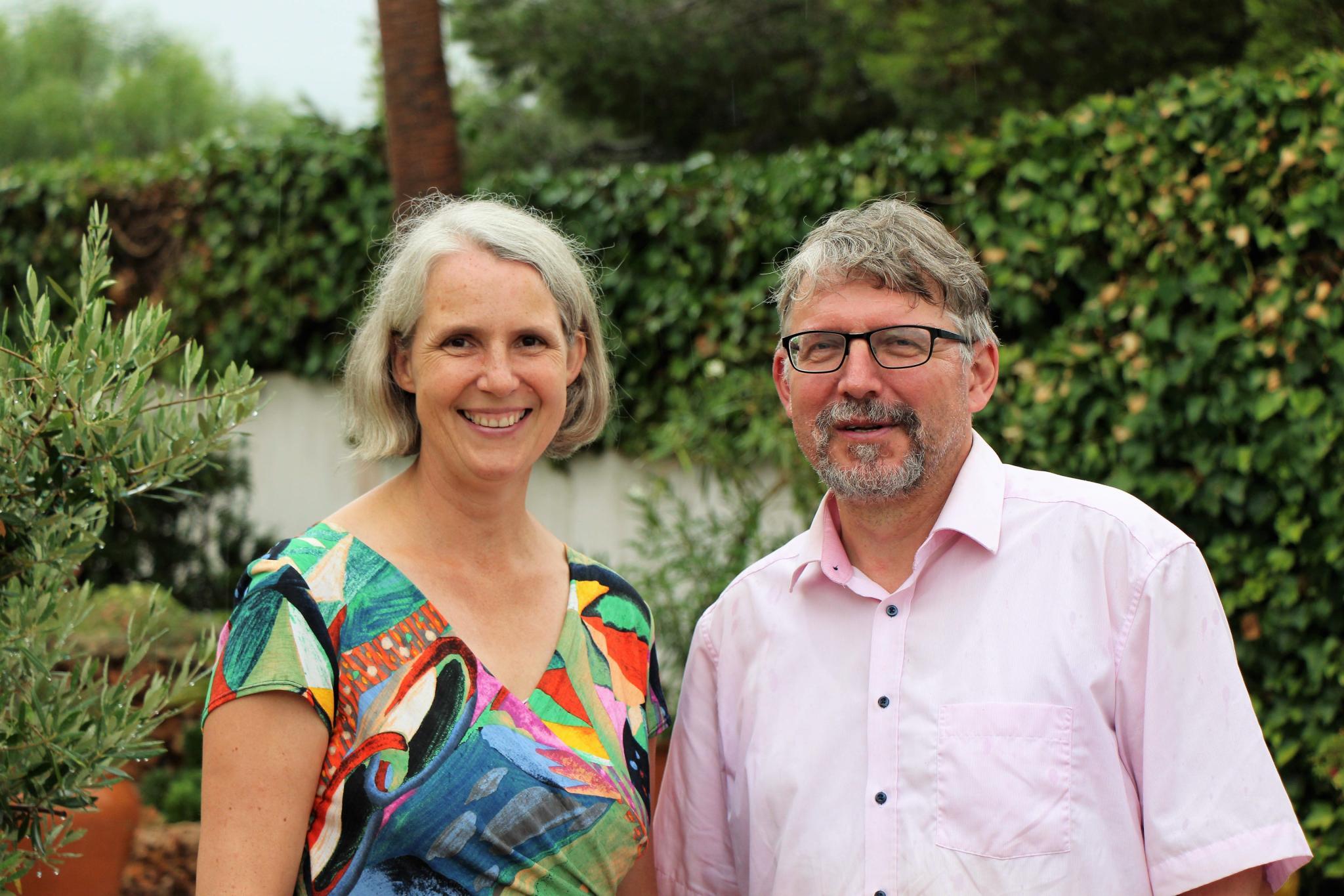 Das Pfarrerehepaar Martje Mechels und Holmfried Braun wohnt in Bellavista.