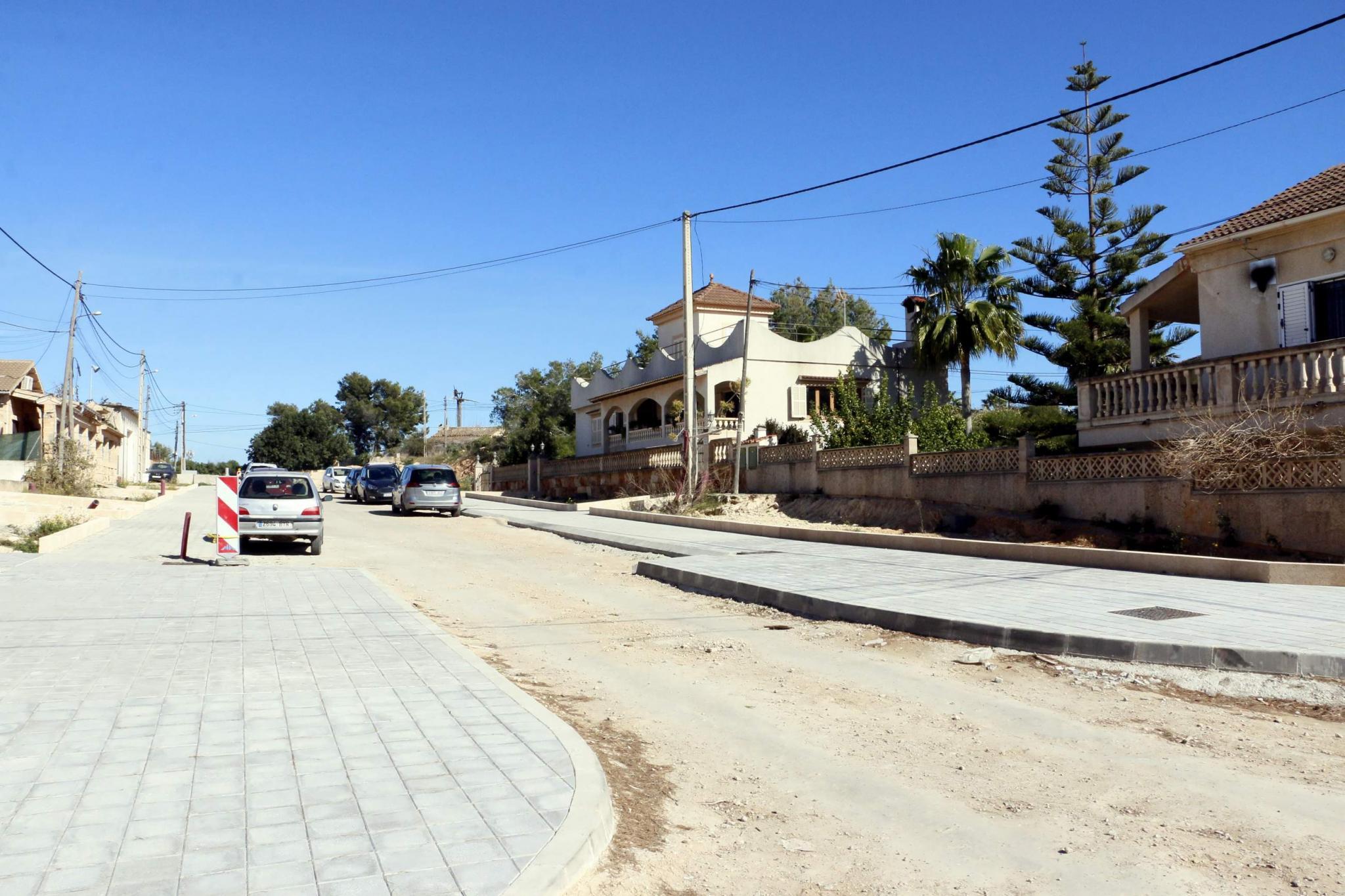 Eine Straße im Viertel Bellavista.