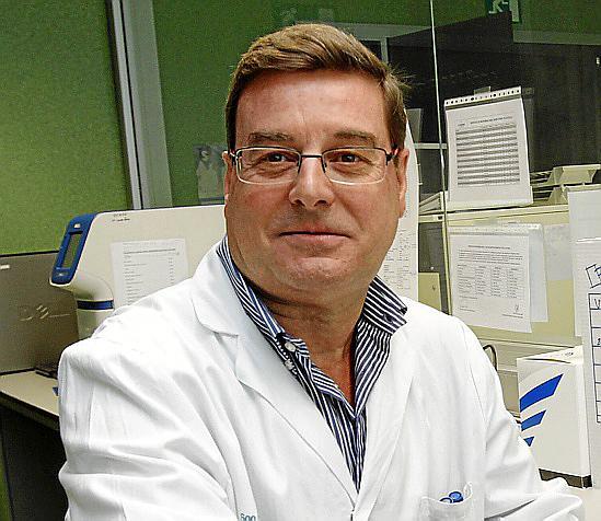 Jordi Reina ist Chef-Virologe in Palmas Universitätskrankenhaus.