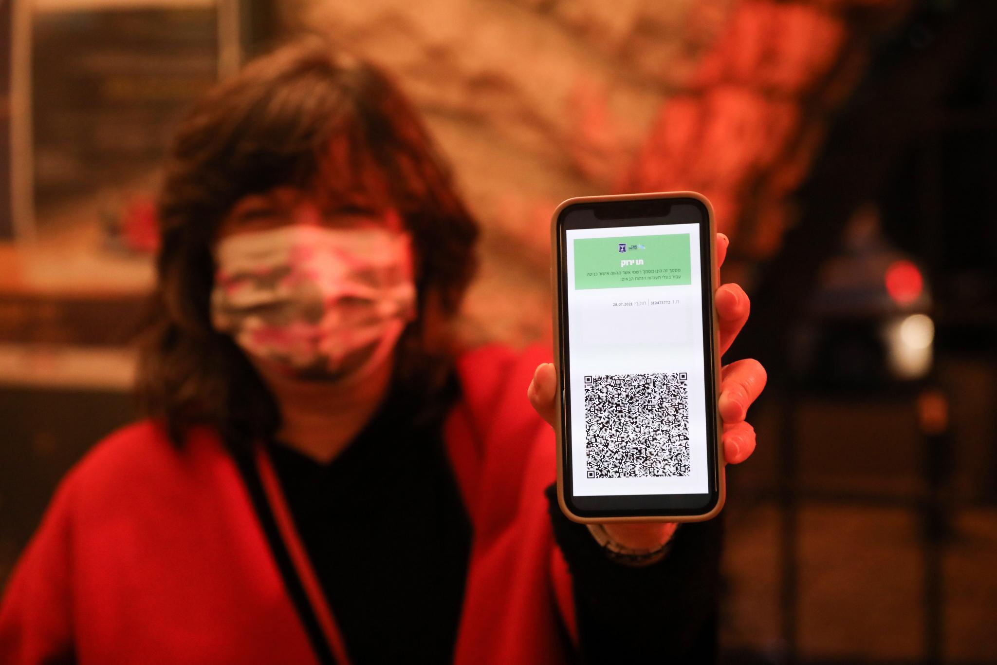 Reisen mit einem QR-Code: So könnte ein digitales Impfzertifikat aussehen.