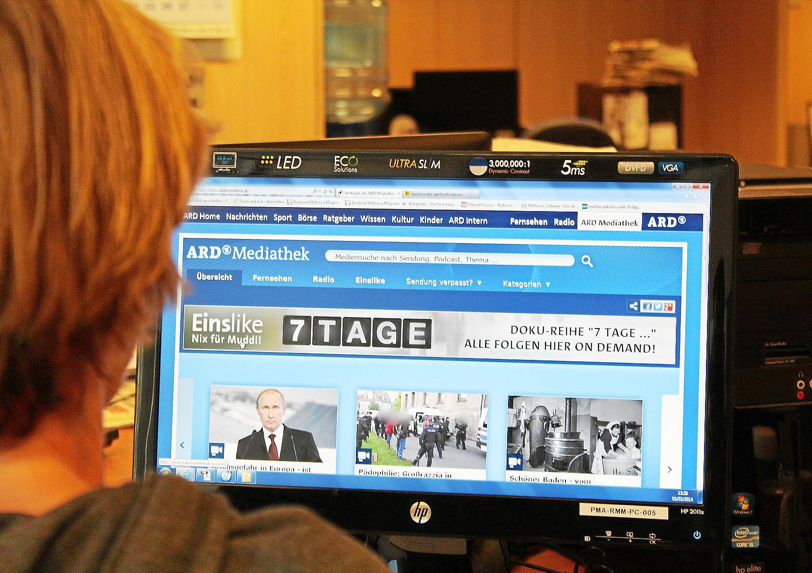 Deutsches Fernsehen online auf Mallorca