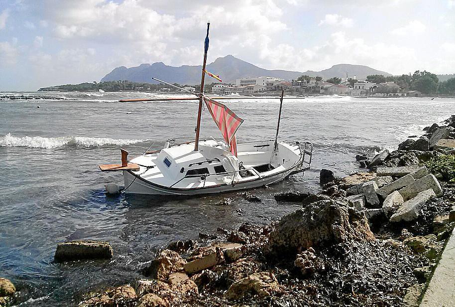 Sturm wütete auf Mallorca