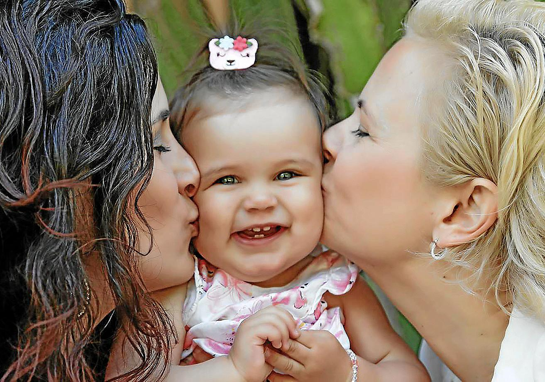 Lesbische Mama und keine Tochter