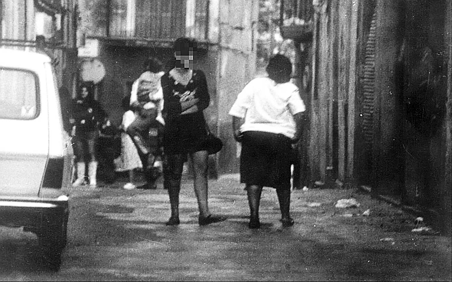 PROSTITUTAS EN EL BARRIO CHINO DE PALMA