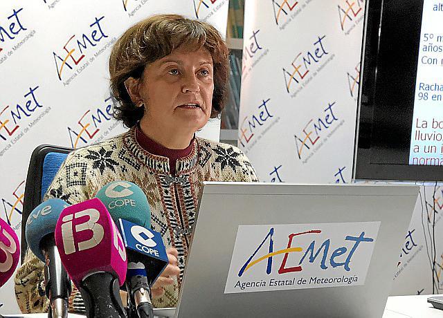 María José Guerrero leitet das Regionalbüro des Wetteramtes Aemet auf den Balearen.