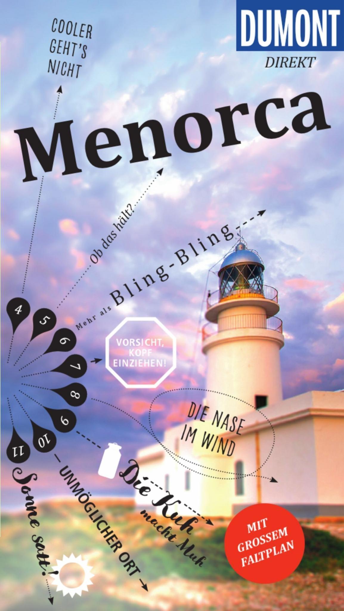 So sieht der Reiseführer Menorca von Jonas Martiny aus, erschienen in der Reihe