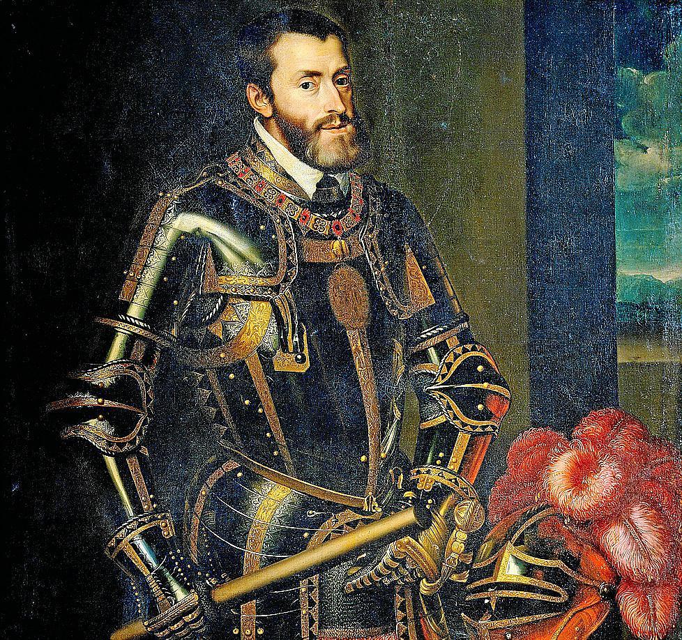 Karl V., römisch-deutscher Kaiser und spanischer König Carlos I. ließ die Rebellion erbarmungslos niederschlagen.