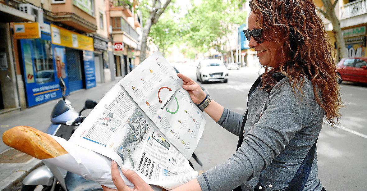 """Die Leserinnen und Leser nahmen die Botschaften der Kampagne mit großem Interesse auf. Die ganzseitigen Anzeigen erschienen in """"Ultima Hora"""" sowie dem Mallorca Magazin und im englischsprachigen """"Majorca Daily Bulletin""""."""