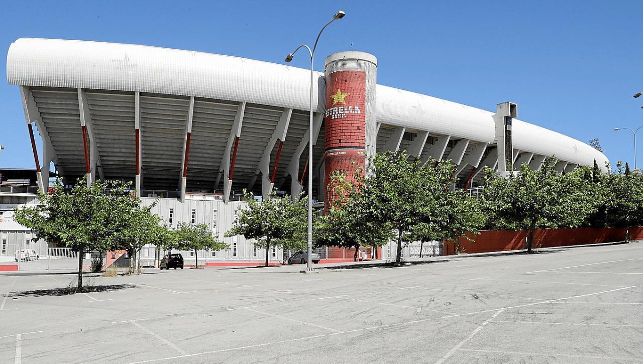 Das Son-Moix-Stadion, einst