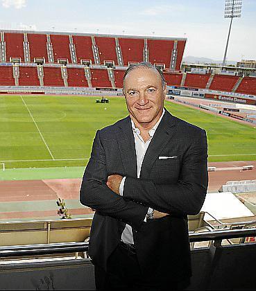 Real-Mallorca-Präsident Andy Kohlberg.
