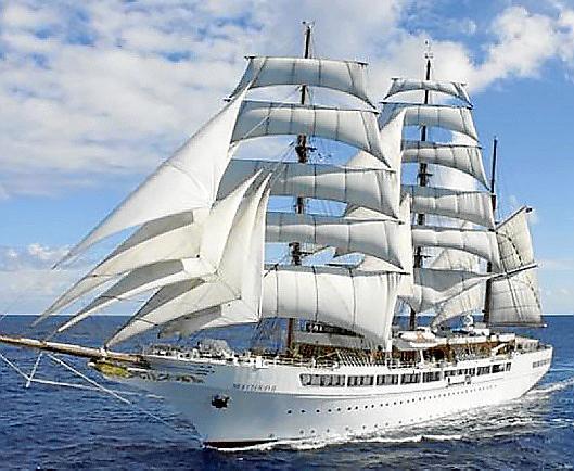 PALMA. CRUCEROS. Sea Cloud Spirit Compañía Sea Cloud Cruises