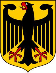 Der Bundesadler.