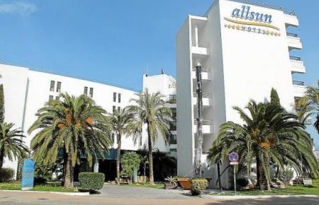 Allsun-Hotel in Cala Millor.