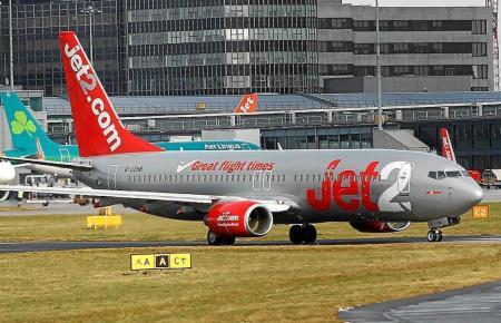 Flugzeug der Gesellschaft Jet 2.