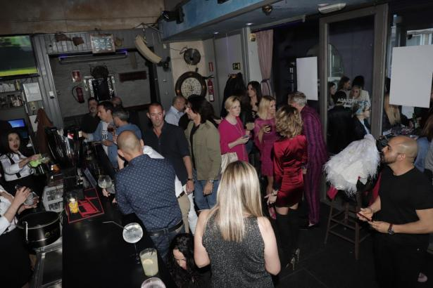Kürzlich eröffnete kleinere Tanzbar in Palma.