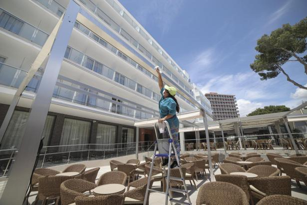 Im Hotel Riu Concordia an der Playa de Palma stiegen viele Pilotprojekt-Kunden ab.