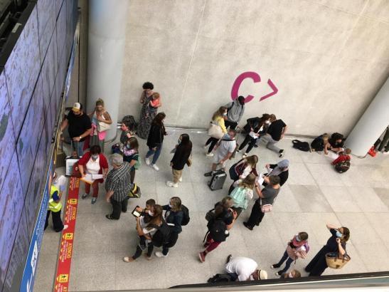 Der Passagierandrang auf dem Flughafen von Palma steigt.