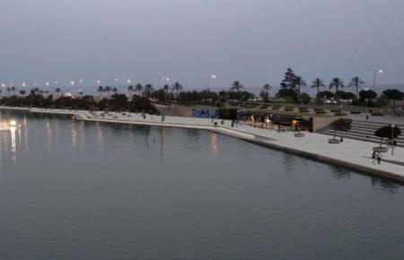 Blick auf den Parc de la Mar.