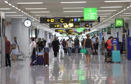 Am Mittwoch war es im Airport ungewöhnlich voll.