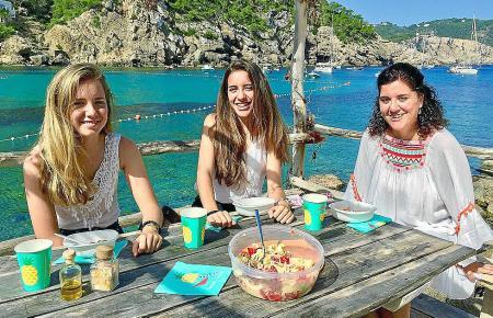 Pepi macht oft mit ihren Töchtern in der beliebten Cala Benirràs ein Picknick.