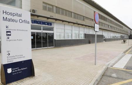 Das Orfila-Krankenhaus auf Menorca.