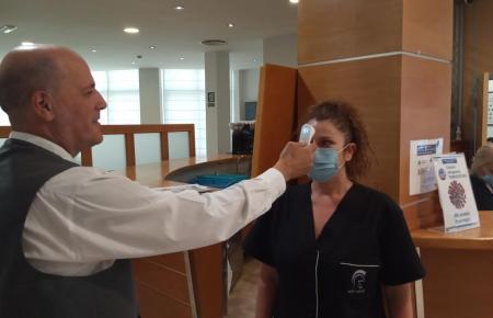 In den Hotels bemüht man sich, dem Coronavirus keine Chance zu geben.