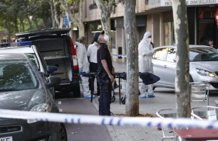 Der Unfall ereignete sich am Dinestagabend an der Carretera de Valldemossa.