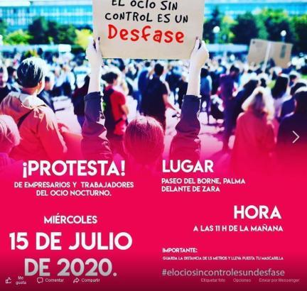 Am 15. Juli ist eine Demonstration in Palma geplant.