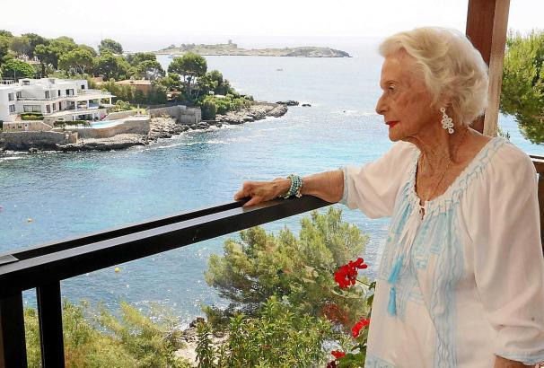 """Christiane König auf dem Balkon: """"Diese Wohnung habe ich geliebt, und jetzt ist es vorbei."""""""