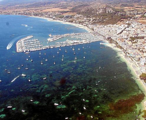 Ein idyllischer Fischerhafen war Port de Pollença in den 30er Jahren.