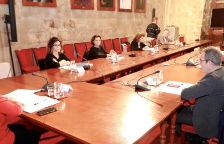 Kabinettssitzung der Inselregierung.