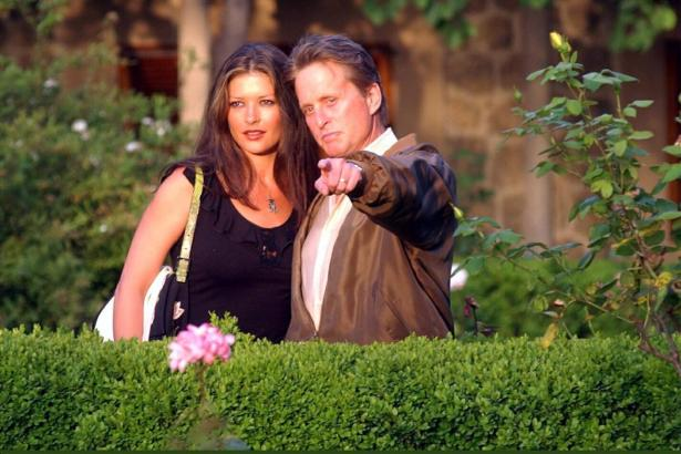 Catherine Zeta-Jones und Michael Douglas vor vielen Jahren in Valldemossa.