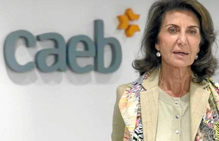 Vetritt die Arbeitgeber auf Mallorca: Caeb-Chefin Carmen Planas.