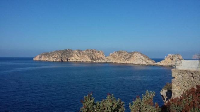 Blick auf die Malgrats-Inseln.