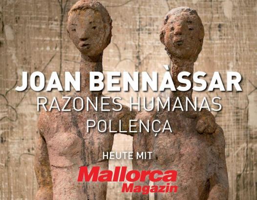Mit seinen Statuen auf dem Kalvarienberg von Pollença beschwört der Künstler Joan Bennâssar in seiner Heimatgemeinde menschliche Werte.
