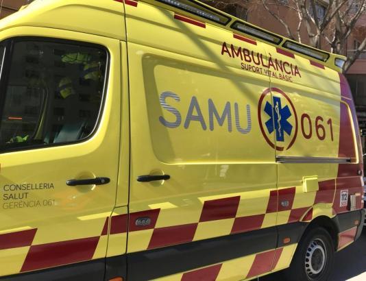 Krankenwagen im Einsatz auf Mallorca.