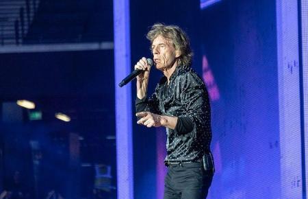 Mick Jagger, der Sänger der Rolling Stones.