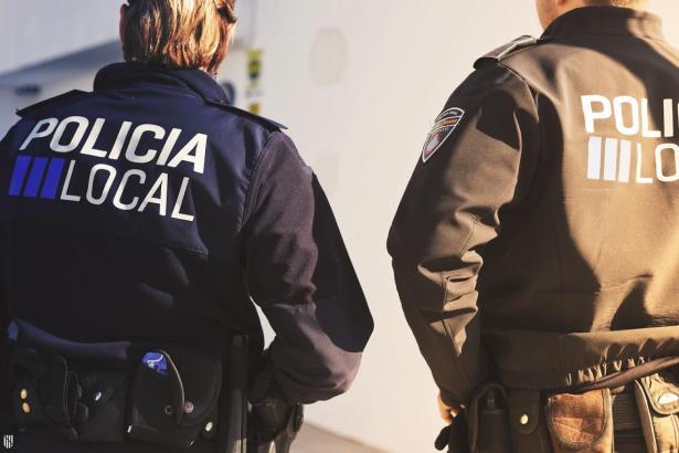 Lokalpolizisten in Palma.