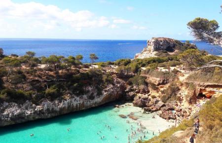Caló des Moro: Die Traumbucht auf Mallorca ist in den sozialen Netzwerken der absolute Renner.