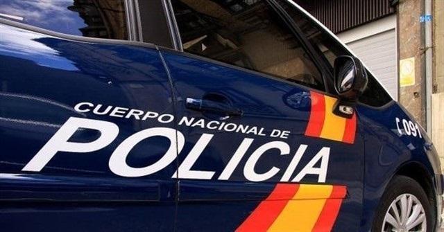 Fahrzeug der spanischen Nationalpolizei.