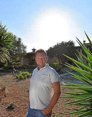 Tenor Daniel Kirch in seiner neuen Wahlheimat Mallorca.