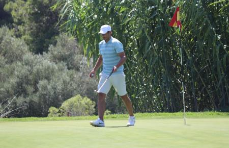 Rafa Nadal bei der Balearen-Meisterschaft in Capdepera.