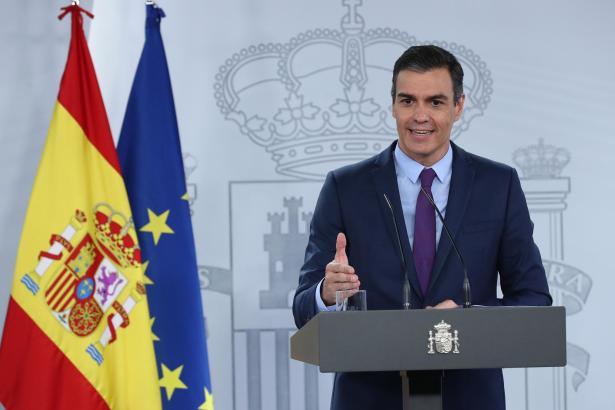 Pedro Sánchez ist nicht allzu besorgt.