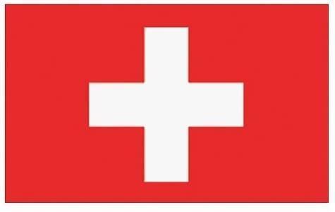 Die Schweizer Flagge.