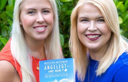 Die Schwestern Juliet Altmeyer (links) und Janice Schmidt-Altmeyer haben im Frühjahr ihr Erstlingswerk veröffentlicht.